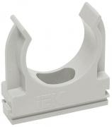 Держатель для труб IEK с защелкой 20 мм CTA10D-CF20-K41-100
