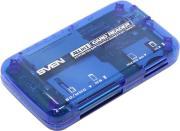 Устройство для чтения карт памяти SVEN AC-116 Blue
