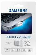 Флеш-диск USB 32ГБ Samsung FIT ( MUF-32BB/APC ) USB 3.0 (серебристый)