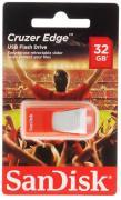 Usb-флешка Sandisk Cruzer Edge 32Gb, красная