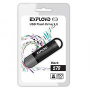 USB Flash Drive 4Gb - Exployd 570 Black EX-4GB-570-Black