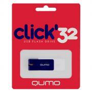 QUMO Click 32GB, Sapphire