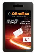 USB Flash Drive 4Gb - OltraMax 60 White OM004GB-mini-60-W