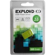 USB Flash Drive 4Gb - Exployd 550 mini Green EX004GB550-mini-G