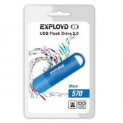 USB Flash Drive 4Gb - Exployd 570 Blue EX-4GB-570-Blue