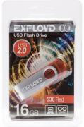 USB Flash Drive 16Gb - Exployd 530 Red EX016GB530-R