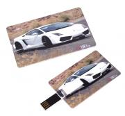 USB Flash Drive 8Gb - Эврика Карта Машина White 94156