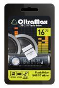 USB Flash Drive 16Gb - OltraMax 50 White OM016GB-50-W