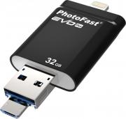 USB Flash Drive 32Gb - PhotoFast i-FlashDrive Evo Plus IFDEVOPLUS32GB