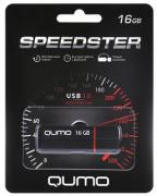 USB-накопитель Qumo Speedster USB 3.0 16GB Black