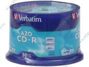 """Диск CD-R 700МБ 52x Verbatim """"43343"""", пласт.коробка, на шпинделе..."""