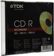 Диск TDK 700Mb 52x