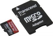 Карта памяти TRANSCEND TS128GUSDU1 + adapter