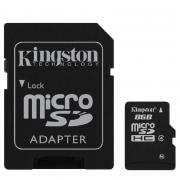 Карта памяти Kingston microSDHC 8Gb Class4 (SDC4/8Gb)