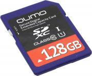 Карта памяти Qumo QM128GSDXC10U1
