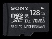 Карты памяти microSD Карта памяти Sony MicroSD SRG1UYAT 128 ГБ Черный