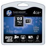 647444-B21 HP Память HP 4GB Micro SDHC Flash Media Kit (647444-B21)
