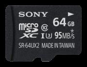 Карты памяти SDXC Карта памяти Sony MicroSDXC SR64UX2AT 64 ГБ +...