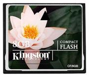 Карта памяти Kingston CompactFlash Card CF/8GB