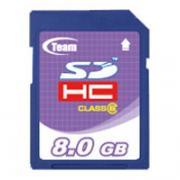 Карта памяти Team Group SDHC 8GB class 6 TSDHC8GCL601 (TSDHC8GCL601)