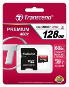 Карта памяти Transcend microSDXC 128 Gb Premium