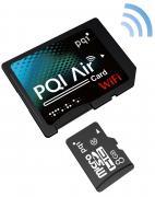 PQI WiFi SDHC Class 10 8GB карта памяти
