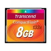 Карта памяти Transcend CompactFlash 8GB 133x, TS8GCF133 (50/20 Mb/s)