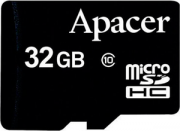 Карта памяти Apacer microSDHC Card Class 10 32GB + SD adapter