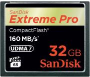 Sandisk Extreme Pro CompactFlash 160MB/s 32GB