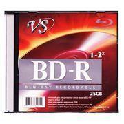 Диск BD-R VS 25 Gb 4x, Slim Case