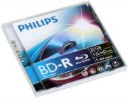 Диск BD-R Philips, Blu-Ray 4x, 25 Gb, Jewel Case []
