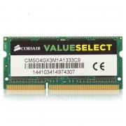 Модуль памяти DDR3 4Gb Corsair CMSO4GX3M1A1333C9 RTL PC3-10600 CL9...