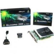 PNY Quadro 2000 625Mhz PCI-E 2.0 1024Mb 2600Mhz 128 bit DVI