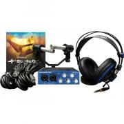 Внешняя студийная звуковая карта PreSonus AudioBox Stereo