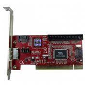 PCI контроллер AgeStar as-ps2es1i1-v (2x SATA, 1x eSATA, 1x IDE)