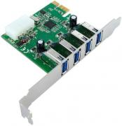Speed Dragon EU306D-2 OEM контроллер PCI-Express x1 USB3.0 4-port...