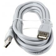 Кабель Hama USB 2.0 A-A (m-f) удлинительный 3.0 м серый H-30618...