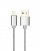 Кабель USB 2.0 - MAGIC 5/8 (microUSB+Lightning), 1m, 2.1A, Partner
