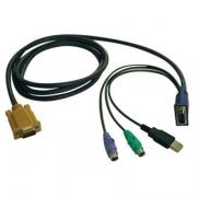 Tripp Lite KVM USB-PS/2 Cable Kit for B040/B042 Series Switches - 6'...