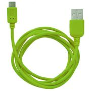 Кабель Human Friends MicroUSB to USB Super Link (Rainbow M Green)