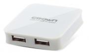 Разветвитель USB 2.0 Crown CMCR-009