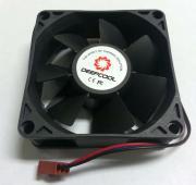 Вентилятор Deepcool 70x70x25 DF07025121BL: 3pin, шар.-подш.