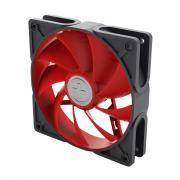 Вентилятор 120x120x25 XILENCE grey/red (корпус из сплава каучука и...
