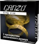 "Ganzo Презервативы ""King Size"", увеличенного размера, 3 шт"