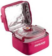 Miniland Термосумка с 2 вакуумными контейнерами розовая