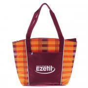 """Сумка-холодильник Ezetil """"KC Lifestyle"""", цвет: оранжевый, бордовый, 25..."""