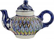 """Чайник заварочный Sima-land """"Риштан"""", цвет: синий, белый, зеленый, 400..."""