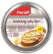 """Формы для пиццы """"Paclan"""", алюминиевая, диаметр 27 см, 5 шт"""