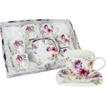 Чайный набор 12 предметов на 6 персон Colombo Цветочный фестиваль...