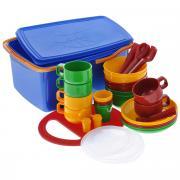 """Набор посуды """"Solaris"""", в контейнере, на 6 персон"""